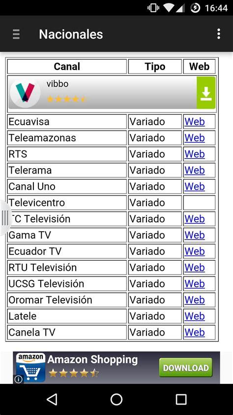 Canales Televisión Ecuador for Android   APK Download