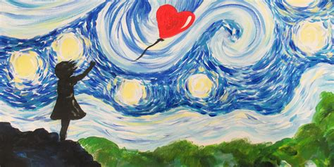 CANCELLED Paint Starry Night Street Art!   PopUp Painting