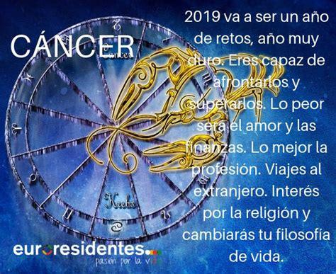 Cáncer 2019