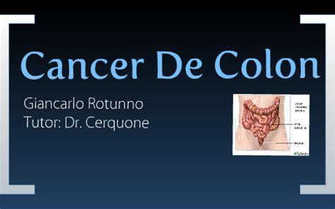 Cancer de colon juvenil, Cancer de colon metacronico ...