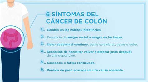 Cáncer de colón: Los seis síntomas que alertan de esta ...