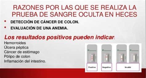 Cancer de colon prueba de sangre   Hablamos de Salud