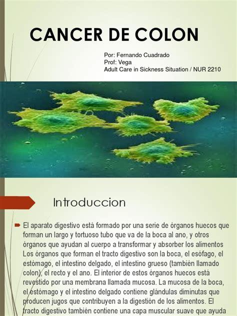 cancer de colon y polipos.ppt | Cáncer colonrectal | Cáncer