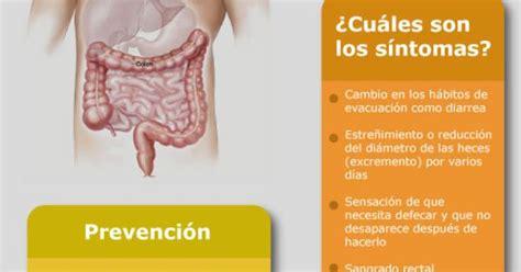 Cáncer de colon y recto Síntomas y prevención | Cáncer ...
