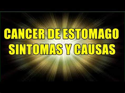Cancer De Estomago, Cancer Gastrico, Causas Y Sintomas Del ...