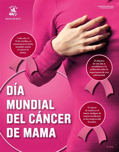 Cancer de Mama 2016 by SOLCA Quito   Issuu