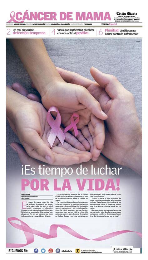 Cancer de Mama by Listín Diario   Issuu