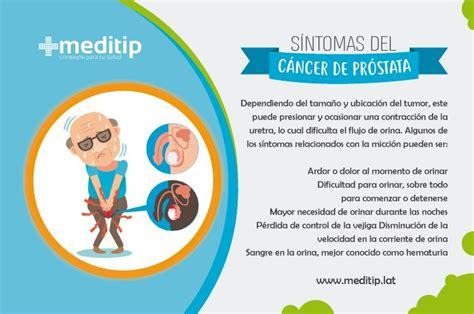 Cáncer de próstata: signos tempranos y diagnóstico   Meditip