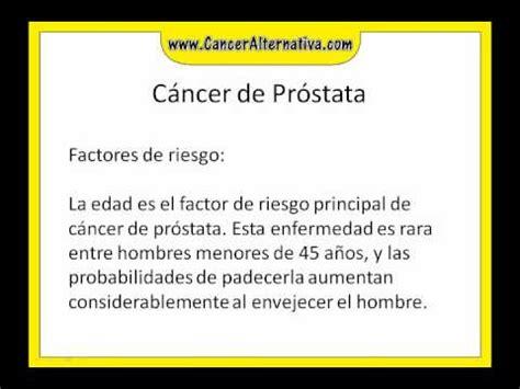 Cáncer de prostata   YouTube