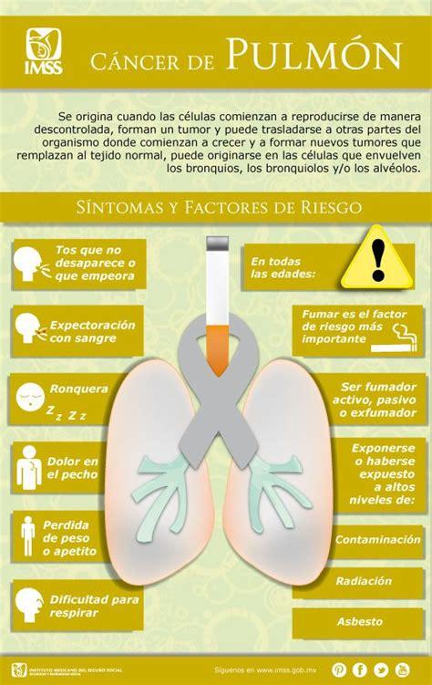 Cáncer de pulmón   Síntomas y Factores de Riesgo | Cáncer ...