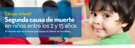 Cáncer infantil: segunda causa de muerte en niños entre ...