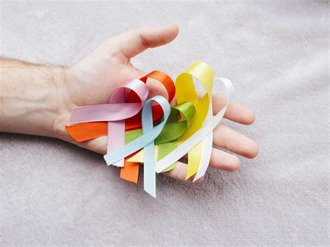 Cancer ribbon colors: Chart and guide