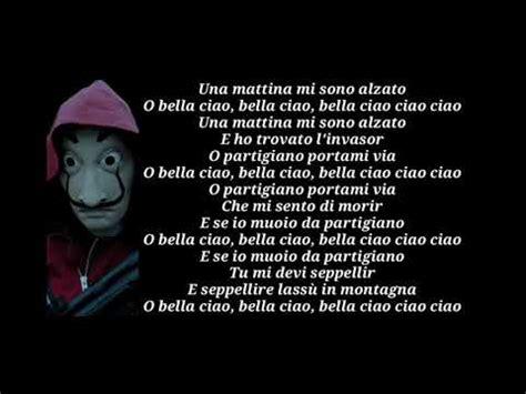 Canción bella ciao   con letra   YouTube