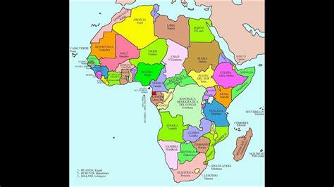 Canción de los países y capitales de África   YouTube