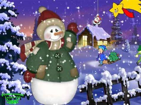 Canción de navidad  Villancico . BLANCA NAVIDAD 2   YouTube