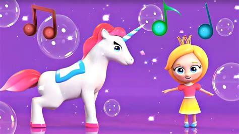 Canción de un Unicornio. Canciones infantiles. Dibujo ...