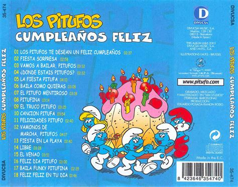 Canción feliz cumpleaños.