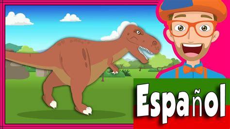 Canción Los Dinosaurios por Blippi Español | Canciones ...