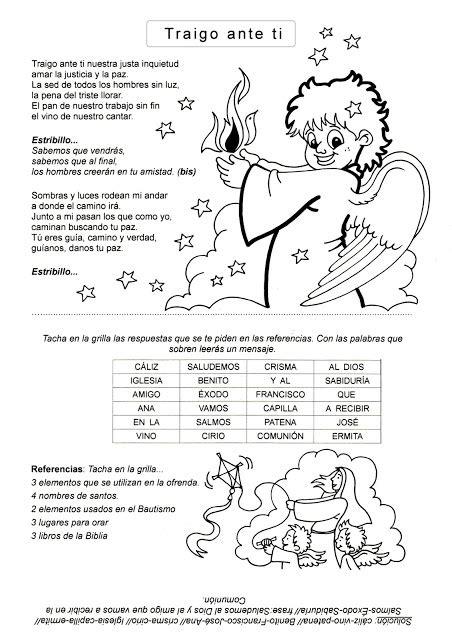 canciones catolicas para niños de catequesis   Buscar con ...