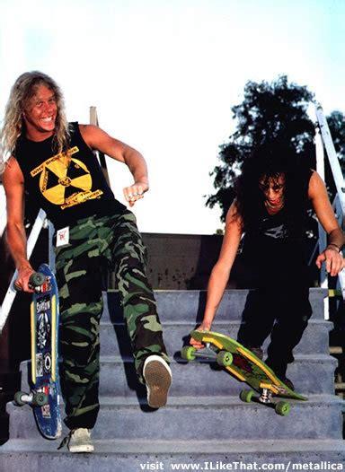 Canciones e integrantes de Metallica como personajes ...