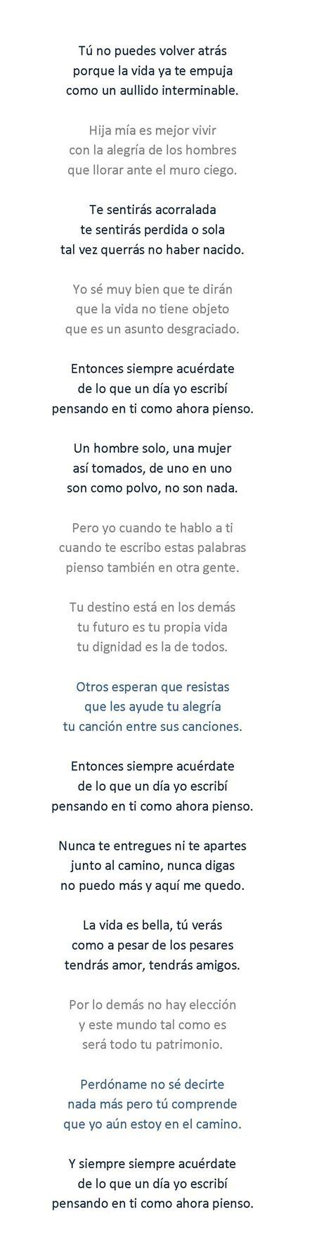 Canciones estupendas  30  – Palabras para Julia  José ...