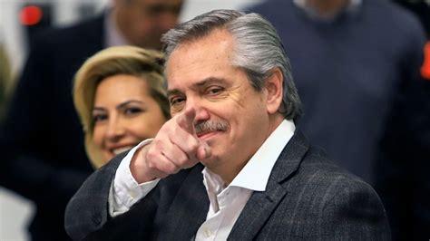 Candidato a presidente argentino Alberto Fernández evoca a ...
