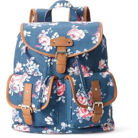Candie s Parker Denim Roses Backpack  Blue   15.965 CRC ...