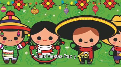 Canta Felices Fiestas Paz y Amor con Mexico Lindo   YouTube