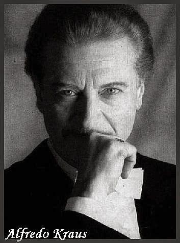 Cantantes de todos los Tiempos: Alfredo Kraus   Biografia ...