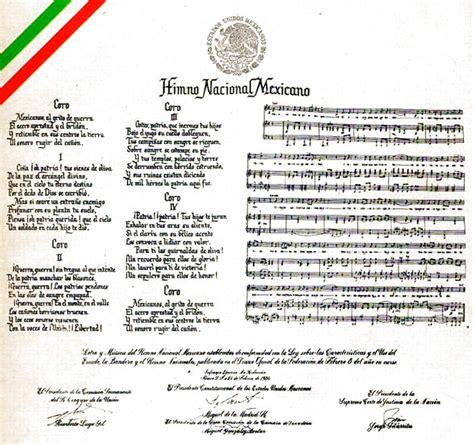 Canto a la Patria: El Himno Nacional Mexicano   Como en el ...