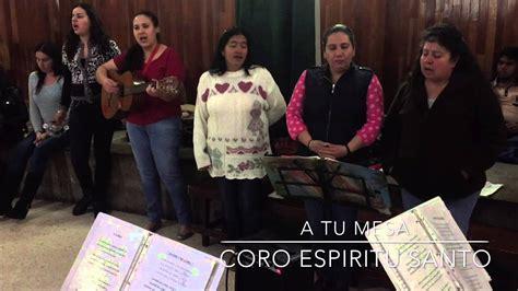 Canto De Comunión | Misa católica | A tu mesa | Coro ...