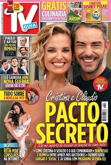 Capa Revista TV Guia   1 março 2019   capasjornais.pt