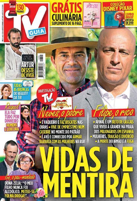 Capa Revista TV Guia   15 março 2019   capasjornais.pt