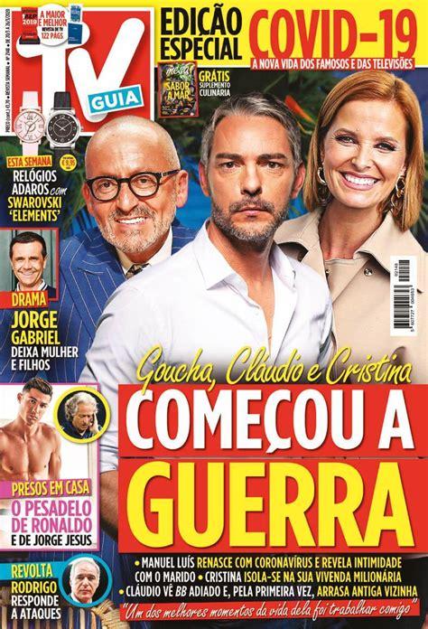 Capa Revista TV Guia   20 março 2020   capasjornais.pt