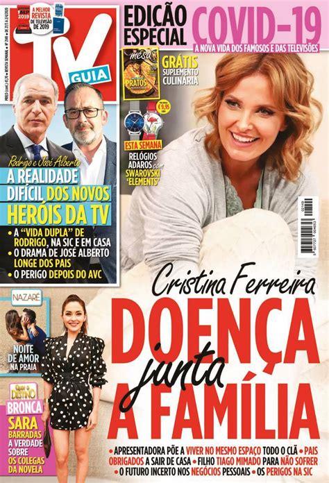 Capa Revista TV Guia   27 março 2020   capasjornais.pt