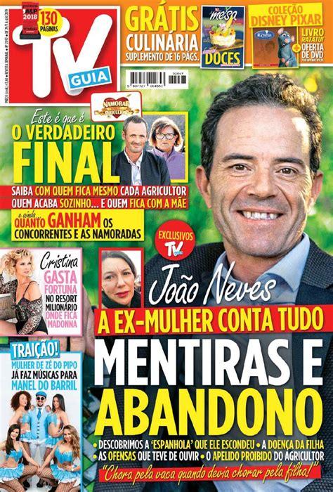 Capa Revista TV Guia   29 março 2019   capasjornais.pt