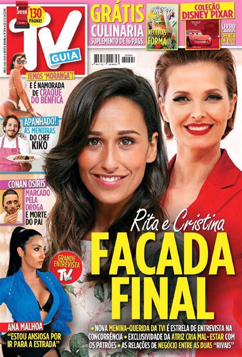 Capa Revista TV Guia   8 março 2019   capasjornais.pt