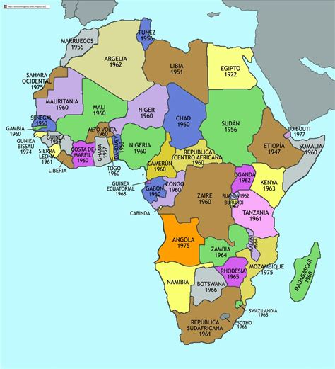Capitales De Africa   SEONegativo.com
