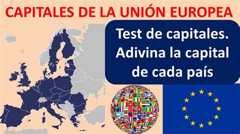Capitales de la Unión Europea test   YouTube