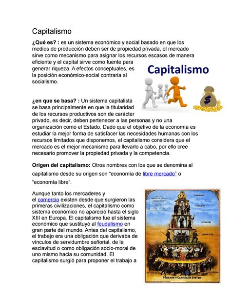 Capitalismo by Tomas Carmona Salazar   Issuu