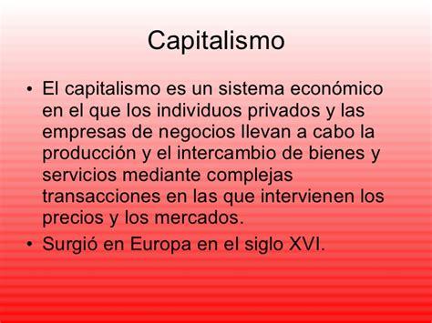 Capitalismo, Socialismo Y Guerra Fria Compu