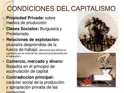 Capitalismo y burguesía