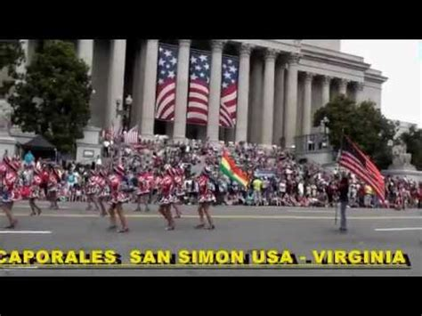 CAPORALES SAN SIMON USA VIRGINIA ☆ desfile 4 de julio ...