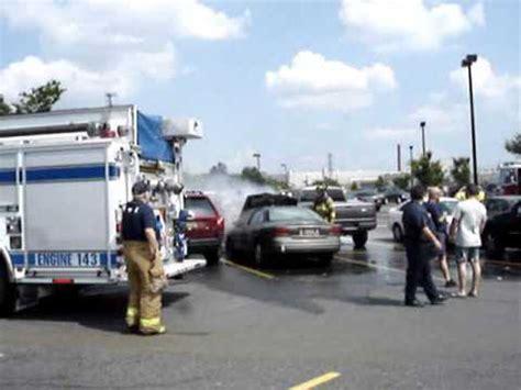 Car fire Prices Corner,Delaware area 7 3 09   YouTube