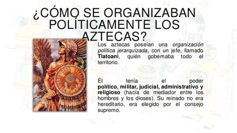 Características de la civilización Azteca