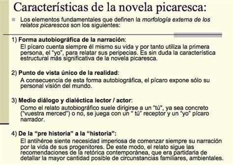 Características de la novela picaresca | Novels ...