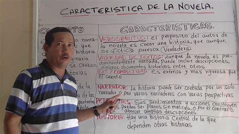 CARACTERISTICAS DE LA NOVELA   ¿QUÉ ES LA NOVELA? Ejemplos ...