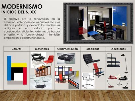 Características modernismo | Trabajos | Modernismo