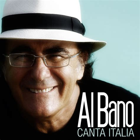 Carátula Frontal de Al Bano Carrisi   Canta Italia   Portada