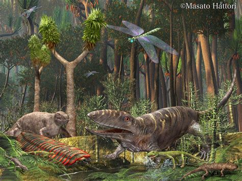 Carboniferous Period | Prehistoric animals, Extinct ...